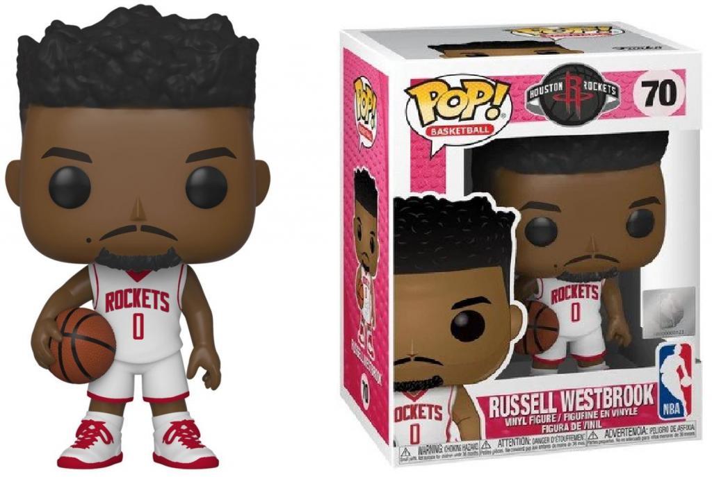 NBA - Houston Rockets - Bobble Head POP N° 70 - Russell Westbrook