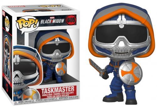 BLACK WIDOW - Bobble Head POP N° 605 - Taskmaster w/ Shield