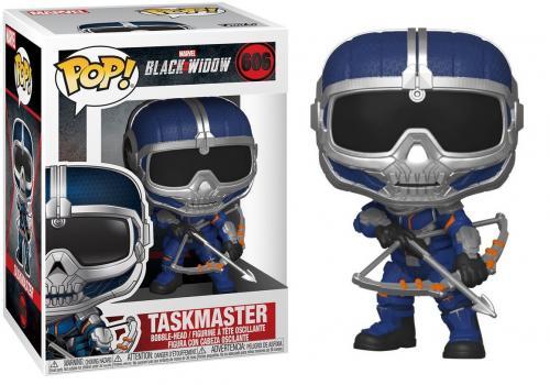 BLACK WIDOW - Bobble Head POP N° 606 - Taskmaster w/ Bow