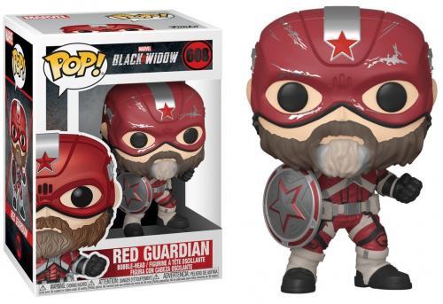 BLACK WIDOW - Bobble Head POP N° 608 - Red Guardian