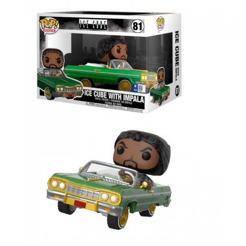 ROCKS - Pop Rides N° 81 - Ice Cube in Impala