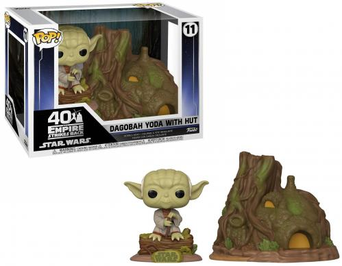 STAR WARS - Bobble Head POP TOWN N° 11 - Yoda's Hut