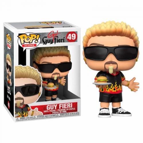 ICONS - Bobble Head POP N° 49 - Guy Fieri