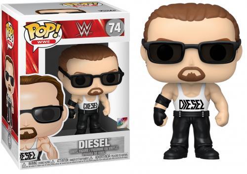 WWE - Bobble Head POP N° 74 - Diesel