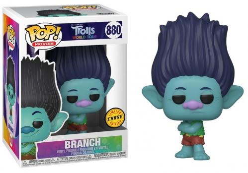 TROLLS WORLD TOUR - Bobble Head POP N° 880 - Branch CHASE Edition