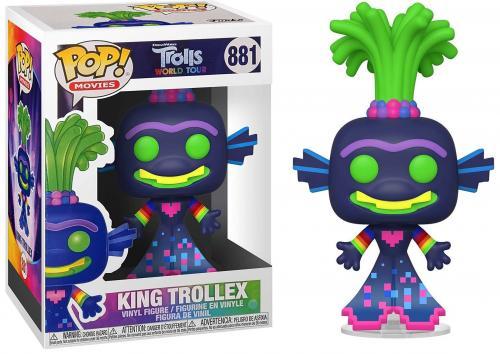 TROLLS WORLD TOUR - Bobble Head POP N° 881 - King Trollex