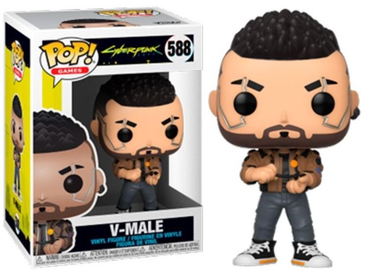 CYBERPUNK 2077 - Bobble Head POP N° 588 - V-Male_1