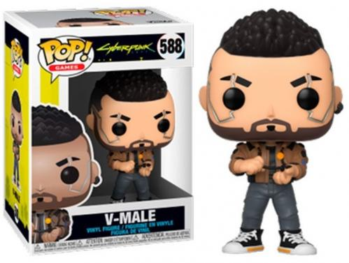 CYBERPUNK 2077 - Bobble Head POP N° 588 - V-Male