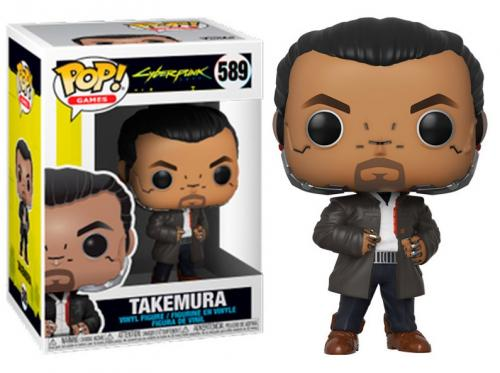 CYBERPUNK 2077 - Bobble Head POP N° 589 - Takemura