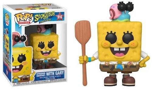 SPONGEBOB - Bobble Head POP N° 916 - Spongebob in Camping Gear