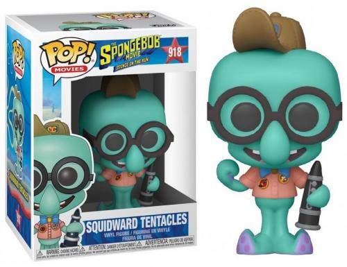 SPONGEBOB - Bobble Head POP N° 918 - Squidward in Camping Gear