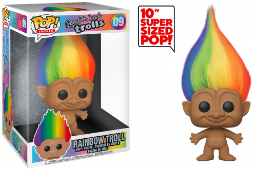 TROLLS - Bobble Head POP N° 09 - Troll Multicolor 10
