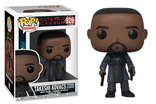 ALTERED CARBON - Bobble Head POP N° 926 - Takeshi Kovacs Wedge Sleeve