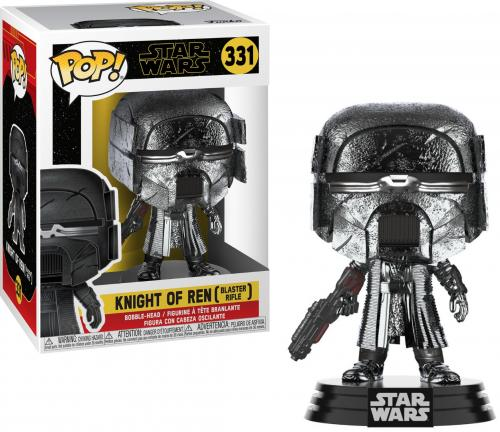 STAR WARS - Bobble Head POP N° 331 - KOR Blaster Chrome - 9cm