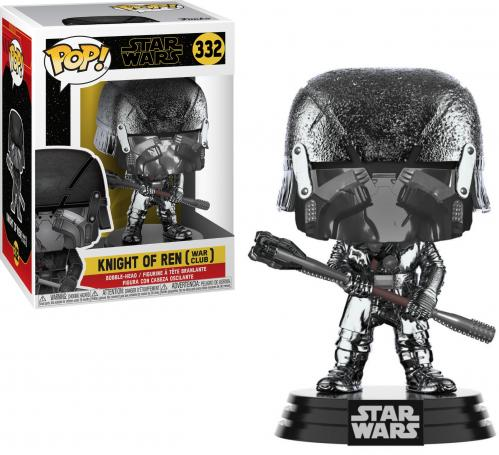 STAR WARS - Bobble Head POP N° 332 - KOR Club Chrome - 9cm
