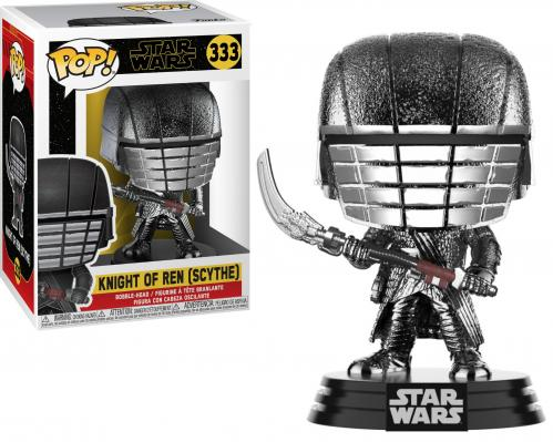STAR WARS - Bobble Head POP N° 333 - KOR Scythe Chrome - 9cm