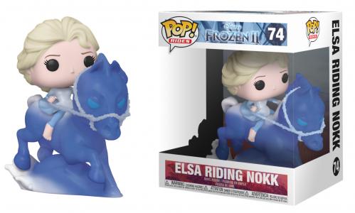 FROZEN 2 - Pop Rides N° 74 - Elsa Riding Nokk