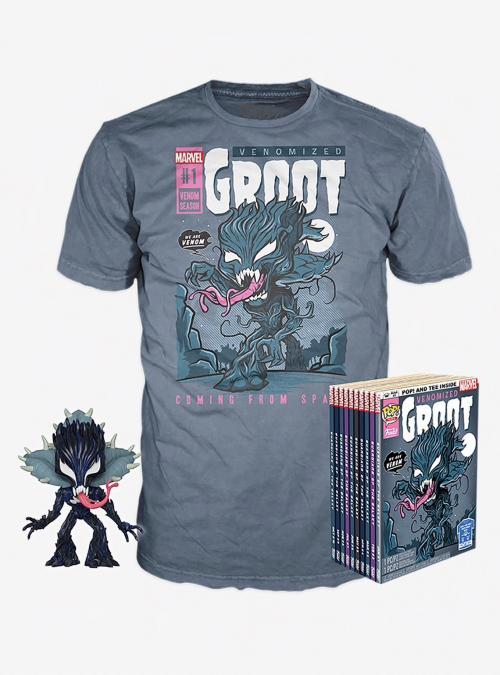 MARVEL - Boxed T-Shirt POP + POP - Venom Groot (XL)