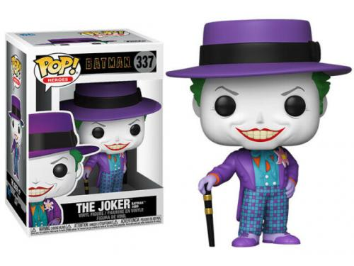 BATMAN 1989 - Bobble Head POP N° 337 - Joker w/ Hat