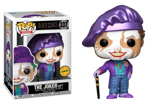 BATMAN 1989 - Bobble Head POP N° 337 - Joker w/ Hat CHASE EDITION