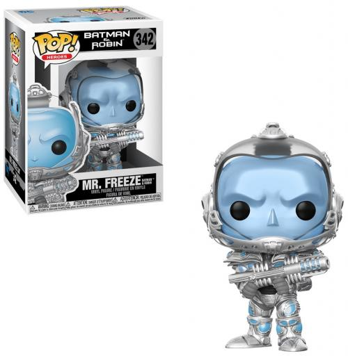 BATMAN & ROBIN - Bobble Head POP N° 342 - Mr. Freeze