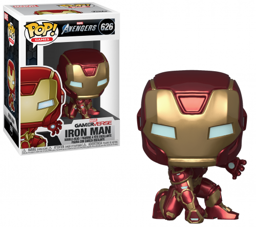 AVENGERS - Bobble Head POP N° 626 - Gamerverse Iron Man