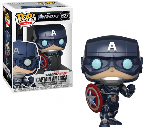 AVENGERS - Bobble Head POP N° 627 - Gamerverse Captain America