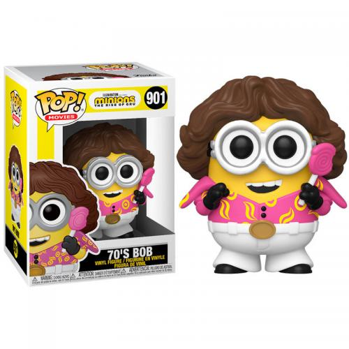 MINIONS 2 - Bobble Head POP N° 901 - 70's Bob