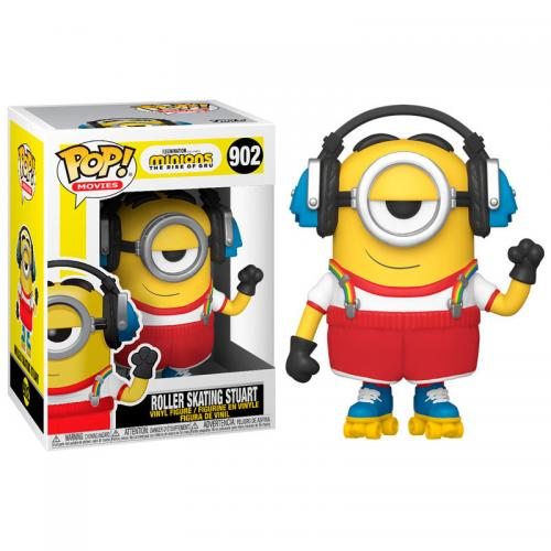 MINIONS 2 - Bobble Head POP N° 902 - Roller Skating Stuart