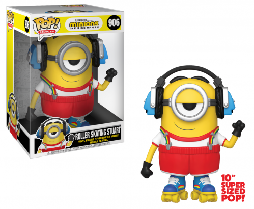 MINIONS 2 - Bobble Head POP N° 906 - Roller Skating Stuart 10