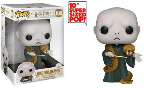 HARRY POTTER - Bobble Head POP N° 109 - Voldemort w/Nagini 10