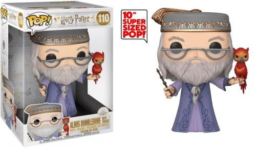 HARRY POTTER - Bobble Head POP N° 110 - Dumbledore w/Fawkes 10