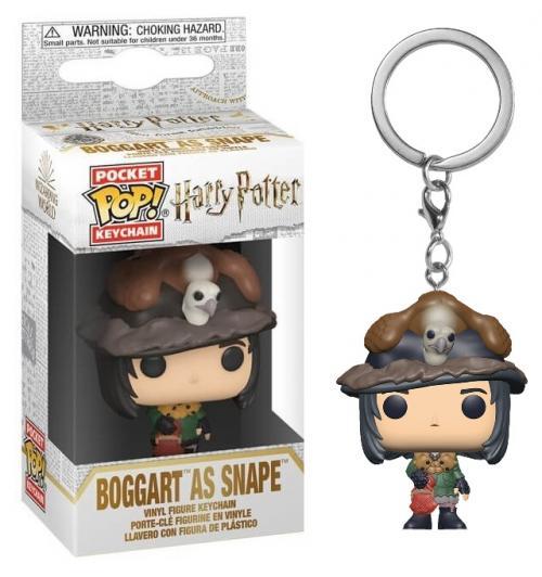 HARRY POTTER - Pocket Pop Keychains - Snape as Boggart - 4cm
