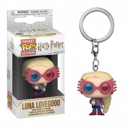 HARRY POTTER - Pocket Pop Keychains - Luna Lovegood - 4cm
