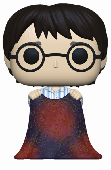 HARRY POTTER - Bobble Head POP N° xxx - Harry w/ Invisibility Cloak