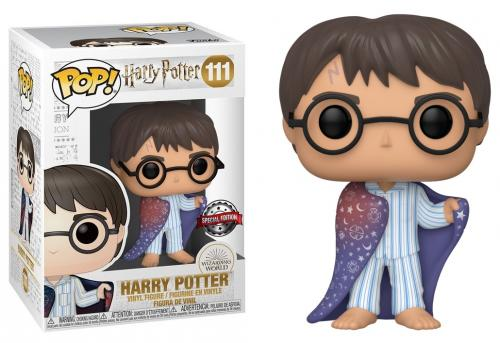 HARRY POTTER - Bobble Head POP N° 111 - Harry in Invisibility Cloak