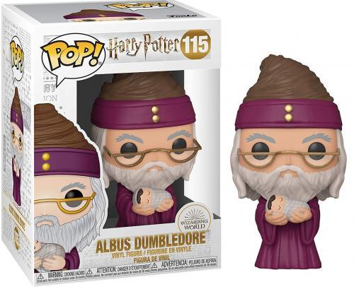 HARRY POTTER - Bobble Head POP N° xxx - Dumbledore w/ Baby Harry