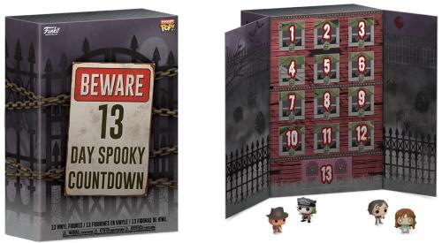 FUNKO - Calendrier de l'avent Pocket Pop! - 13 Day Spooky Countdown