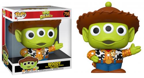 TOY STORY - Bobble Head POP N° 756 - Alien Remix Woody 10