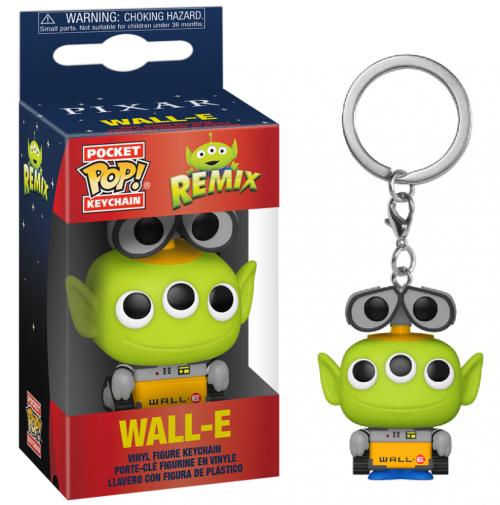 TOY STORY - Pocket Pop Keychain - Alien Remix Wall-E