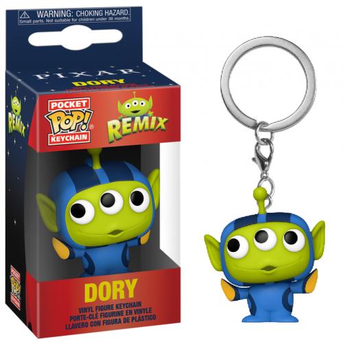 TOY STORY - Pocket Pop Keychain - Alien Remix Dory