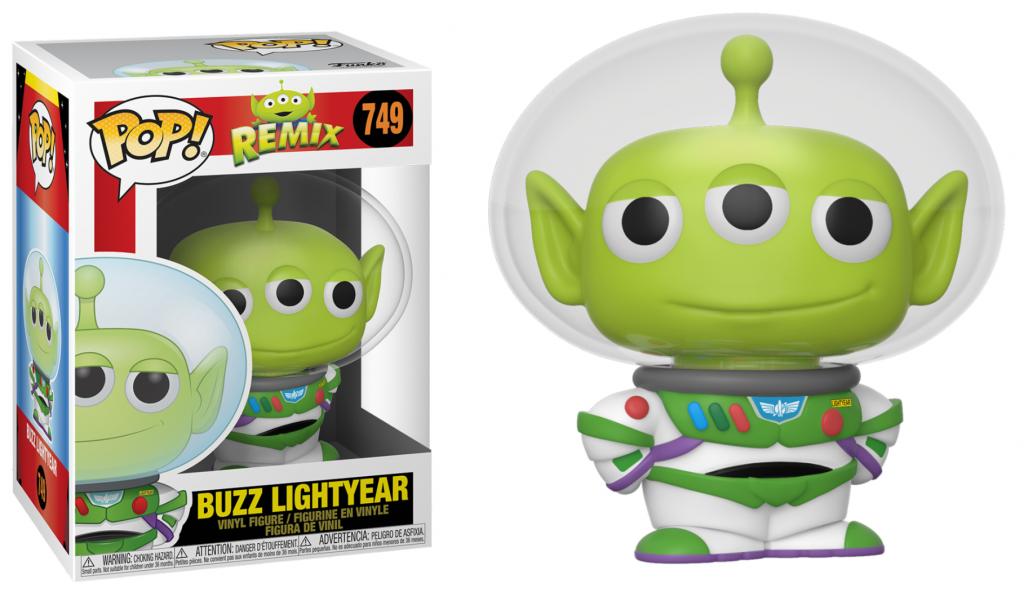 TOY STORY - Bobble Head POP N° 749 - Alien Remix Buzz_1