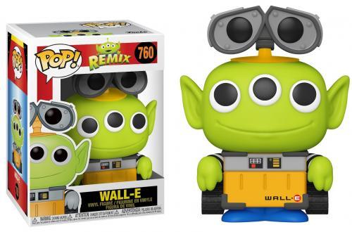 TOY STORY - Bobble Head POP N° 760 - Alien Remix Wall-E