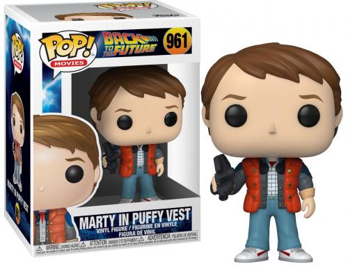 BACK TO THE FUTURE - Bobble Head POP N° 961 - Marty in Puffy Vest
