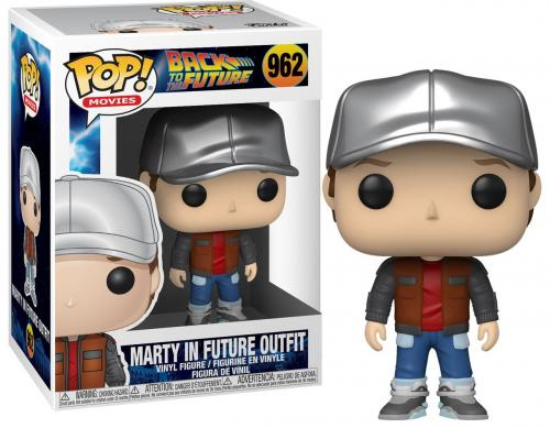 BACK TO THE FUTURE - Bobble Head POP N° 962 - Marty in Future Outfit