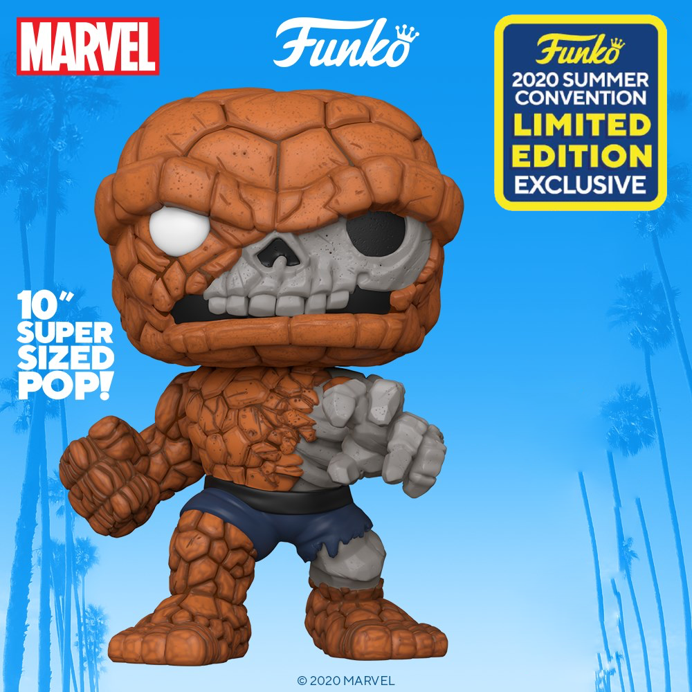 MARVEL ZOMBIES - Bobble Head POP N° 665 - Zombie The Thing - 10