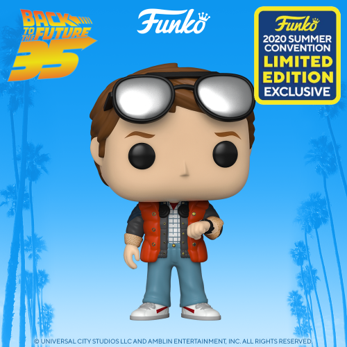 BACK TO THE FUTURE - Bobble Head POP N° 965 - Marty Checking Watch