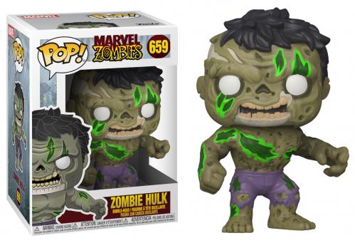 MARVEL ZOMBIES - Bobble Head POP N° 659 - Hulk