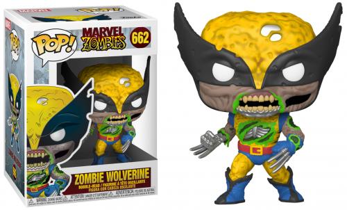 MARVEL ZOMBIES - Bobble Head POP N° 662 - Wolverine