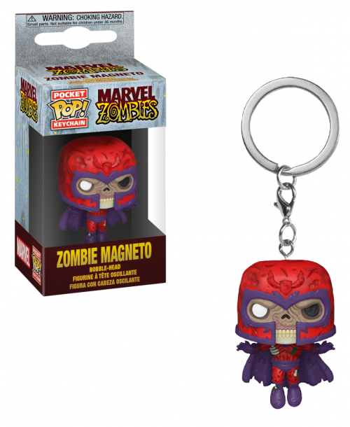 MARVEL ZOMBIES - Pocket Pop Keychains - Magneto - 4cm